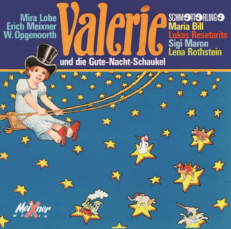 Valerie und Gute-Nacht-Schaukel – CD-Cover