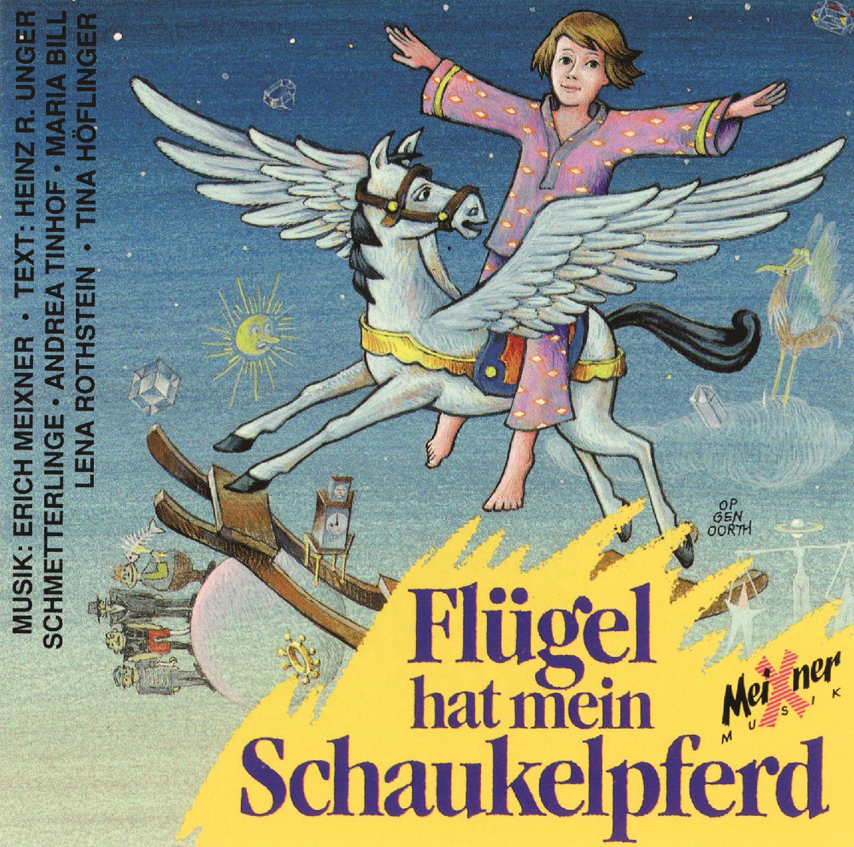 Flügel hat mein Schaukelpferd – CD-Cover