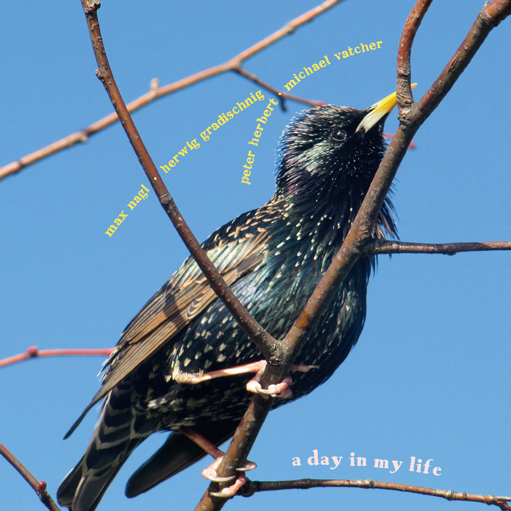 A Day in my life – CD-Cover